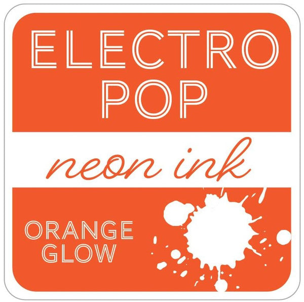 Gina K. Designs - Electro Pop Neon Ink Pad - Orange Glow