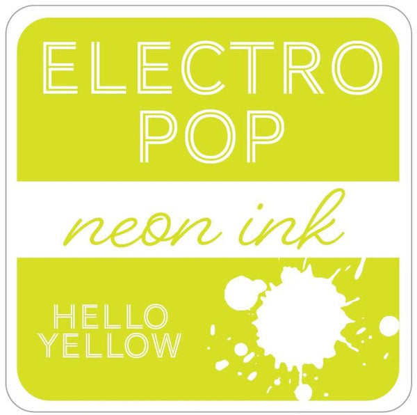 Gina K. Designs - Electro Pop Neon Ink Pad - Hello Yellow