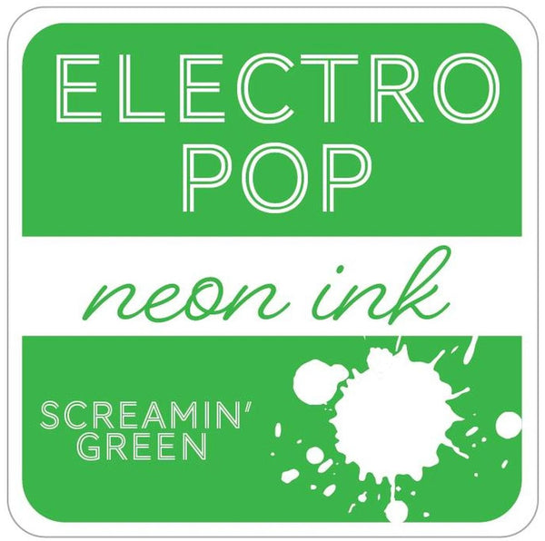 Gina K. Designs - Electro Pop Neon Ink Pad - Screamin' Green