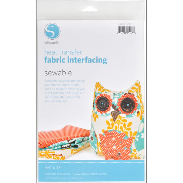 Silhouette - Heat transfer Fabric Interfacing