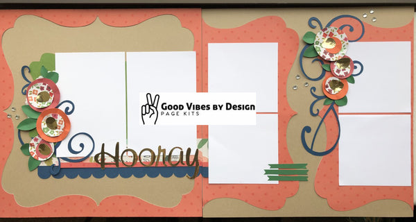 Good Vibes By Design - Hooray - Page Kit