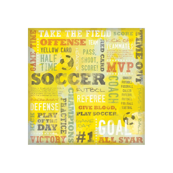 Karen Foster - Yellow Card Soccer collage
