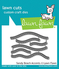 Lawn Fawn - Sandy Beach Accents Die Set