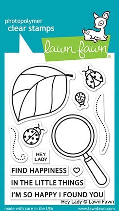 Lawn Fawn - Hey Lady stamp set