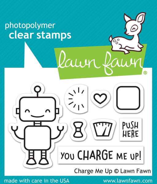 Lawn Fawn - Charge Me Up - Stamp Set
