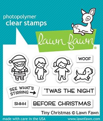 Lawn Fawn - Tiny Christmas Stamp & Die Bundle