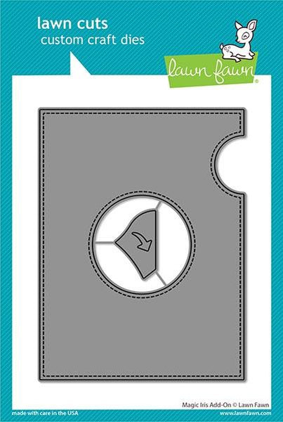 Lawn Fawn - Magic Iris - Add-On Die Set