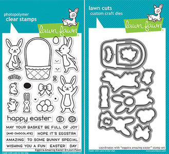 Lawn Fawn - Eggstra Amazing Easter Stamp & Die Bundle