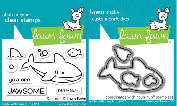 Lawn Fawn - Duh-Nuh - Stamp & Die Bundle set