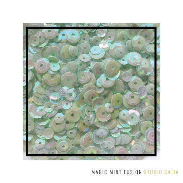 Studio Katia - Magic Mint Fusion Sequins