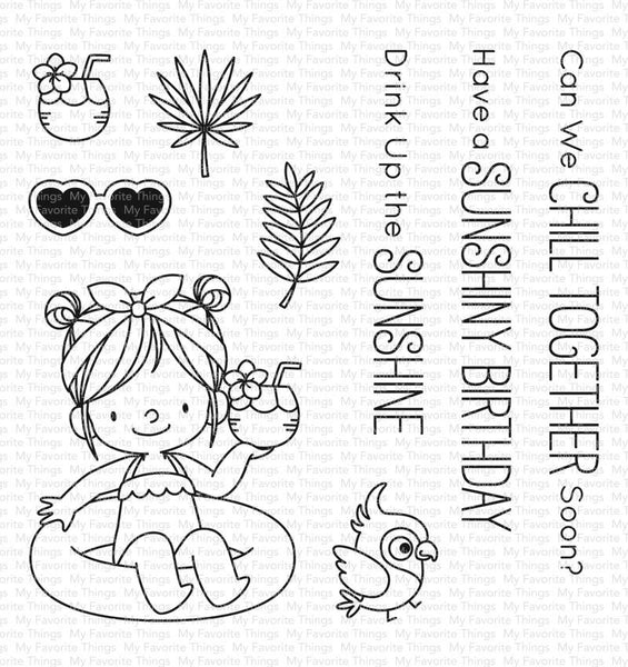 My Favorite Things - Drink Up the Sunshine Stamp Set