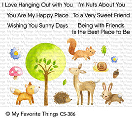 My Favorite Things - Sweet Spring Friends - Clear Stamp