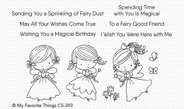 My Favorite Things - Fairy Good Friends - Stamp and Die Bundle