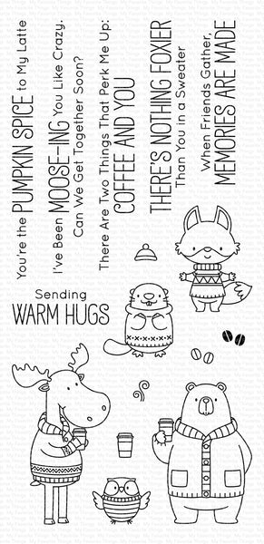 My Favorite Things - Sweater Weather in the Woods stamp set