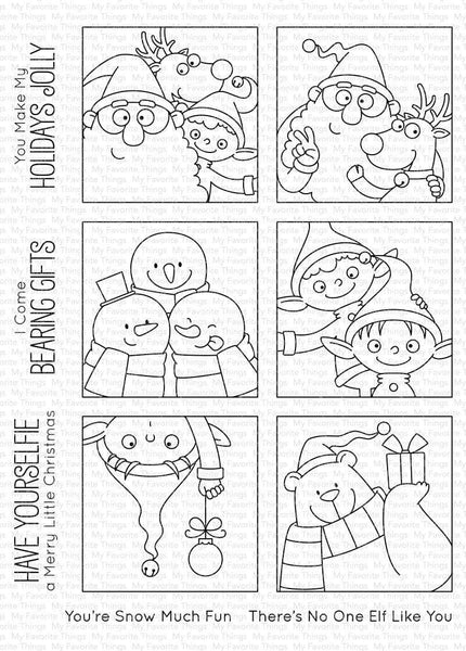 My Favorite Things - Christmas sELFies Stamp Set