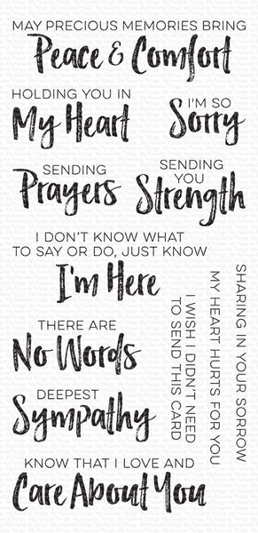 My Favorite Things - Deepest Sympathy stamp set