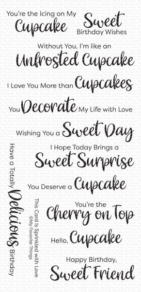 My Favorite Things - Sugar Coated Sentiments stamp set