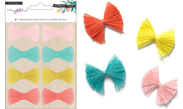 Maggie Holmes - Willow Lane - Adhesive Thread Bows