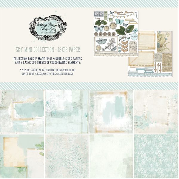 49 and Market - Vintage Artistry - Sky Mini Collection Kit