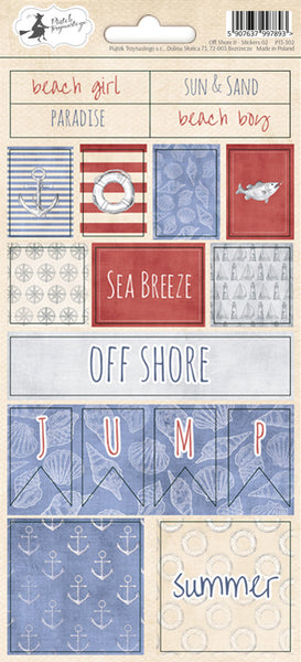 P13 - Off Shore 2 - Stickers 2
