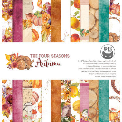 P13 - The Four Seasons - Autumn 12x12 Paper Pad
