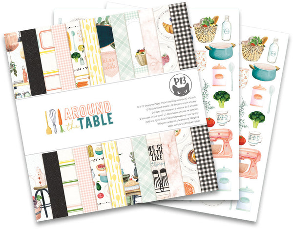 P13 - Around the Table - 12 x 12 Paper Pad