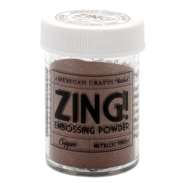 American Crafts - Zing! Embossing Powder - Metallic Finish - Copper
