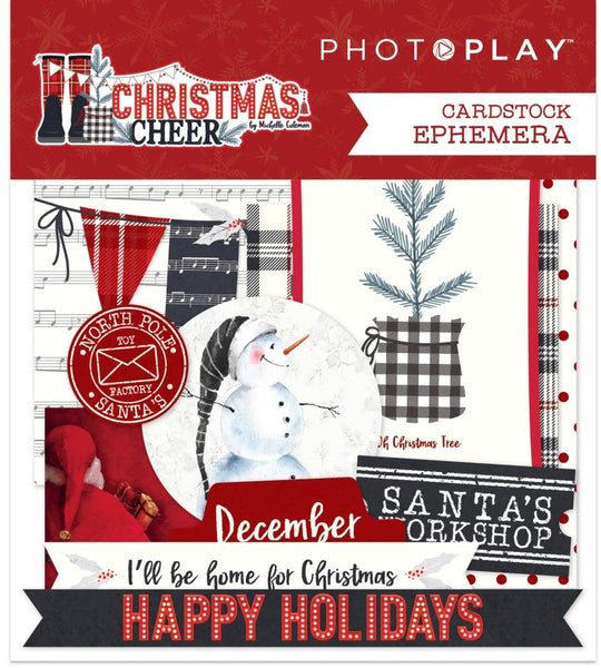 Photoplay Paper - Christmas Cheer - Ephemera Pack