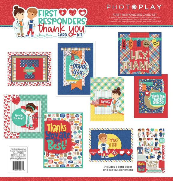 Photoplay - First Responders Thank You Card Kit