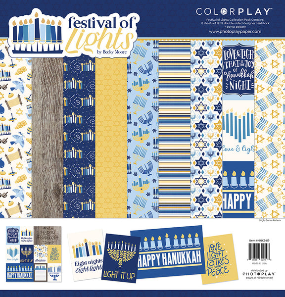 Photoplay Paper - Festival of Lights - 12 x 12 Collection Pack