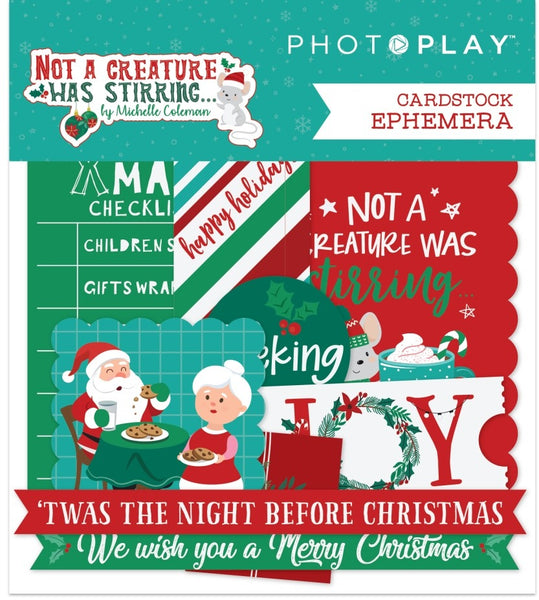 Photoplay Paper - Not A Creature Was Stirring - Ephemera Pack