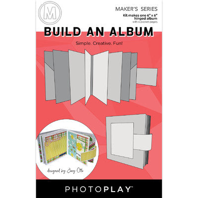 Photoplay Paper - Maker's Series - Build An Album 6 x 6