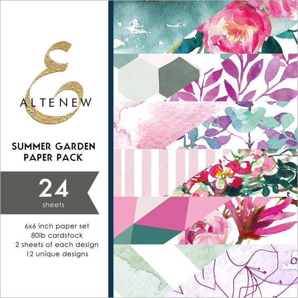 Altenew - Summer Garden 6 x 6 Paper Pack