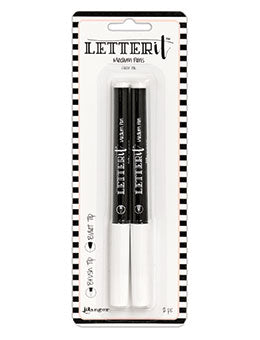 Ranger - Letter It - Medium Pens, Brush Nib & Bullet Nib