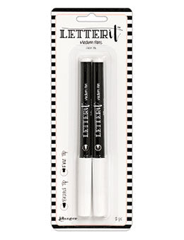 Ranger - Letter It - Medium Pens, Broad Tip & Fine Tip