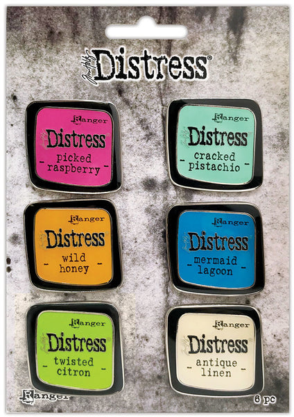 Ranger - Distress Enamel Collector Pin Set - #1