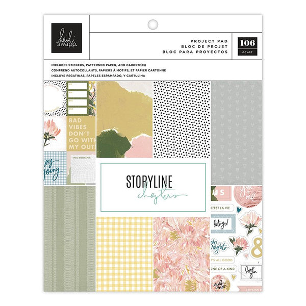 Heidi Swapp - Storyline Chapters - The Scrapbooker Project Pad
