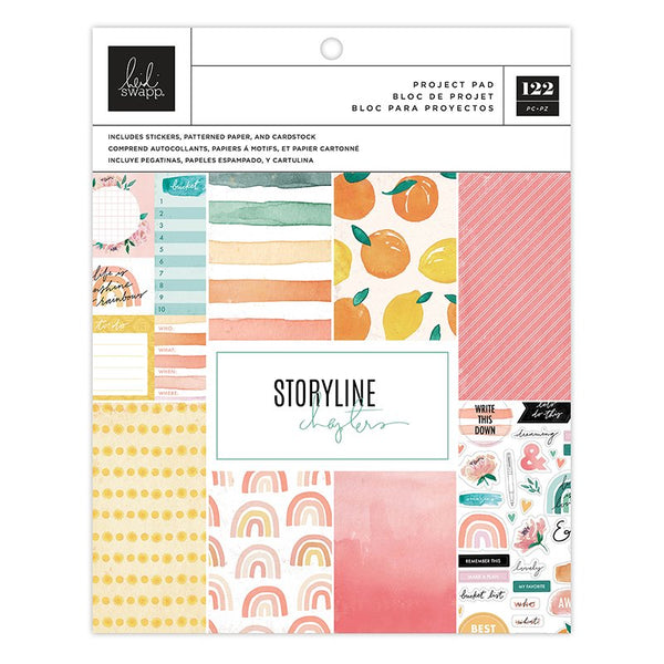 Heidi Swapp - Storyline Chapters - The Planner Project Pad