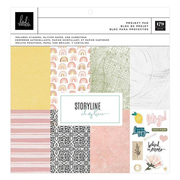 Heidi Swapp - Storyline Chapters - 12 x 12 Project Pad