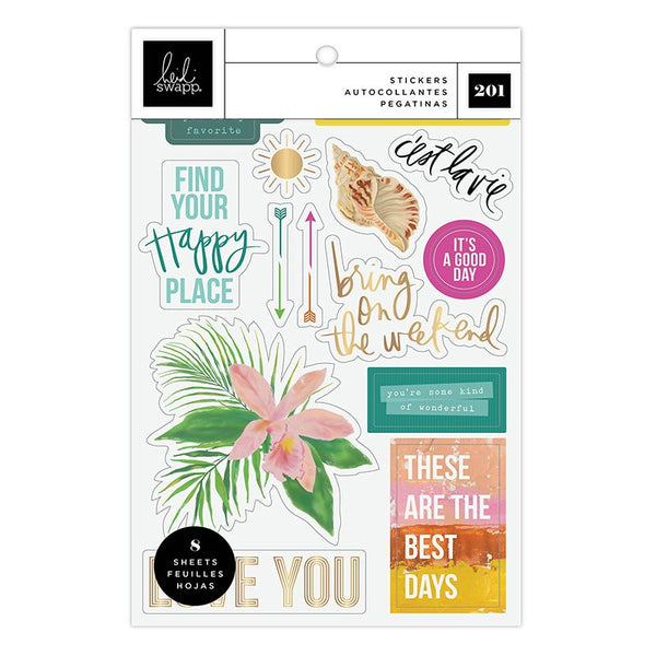 Heidi Swapp - Art Walk - Small Sticker Pack