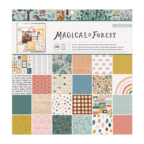 Crate Paper - Magical Forest - Paper Pad