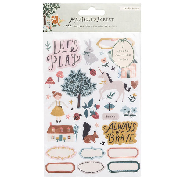 Crate Paper - Magical Forest - Clear Sticker Book