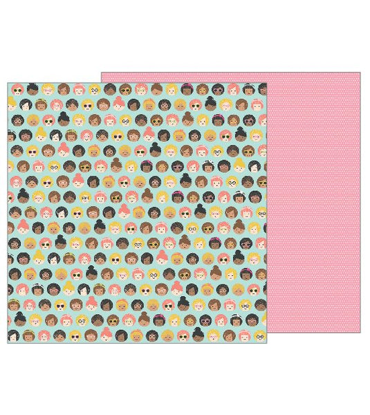 Pebbles - Girl Squad - Girl Squad pattern paper