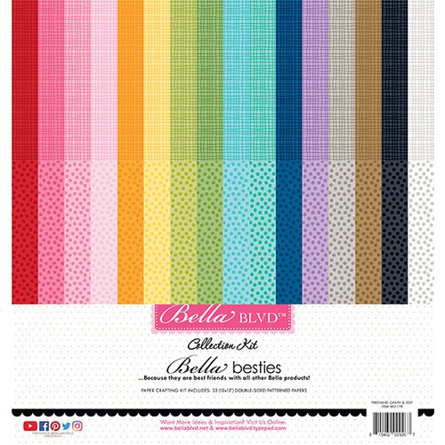 Bella Blvd - Bella Besties - Graph and Dot Rainbow kit