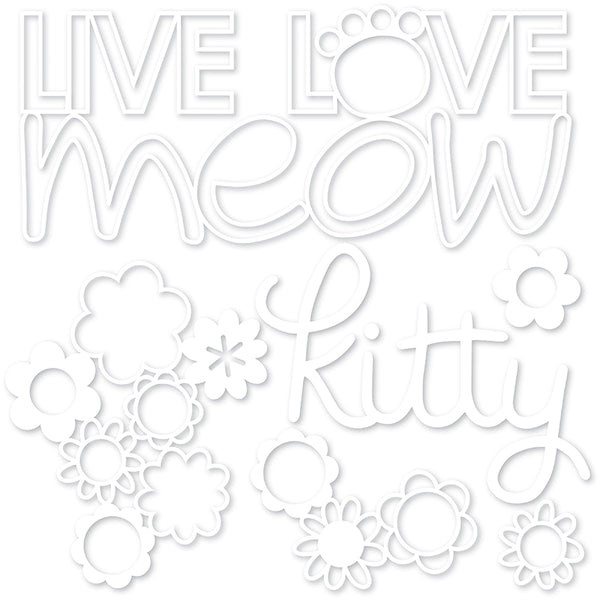 Bella Blvd - Chloe - Cut-Outs - Live Love Meow