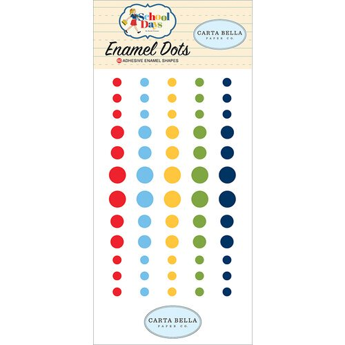 Carta Bella - School Days - Enamel Dots