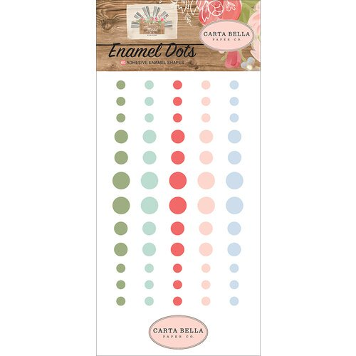 Carta Bella - Farmhouse Market - Enamel Dots