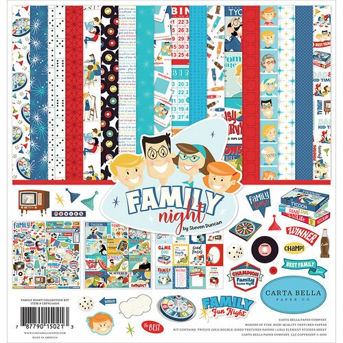 Carta Bella - Family Night - Collection Kit