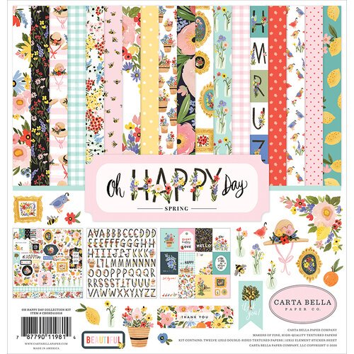 Carta Bella - Oh Happy Day - Collection Kit