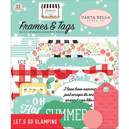 Carta Bella - Summer Market - Frames and Tags